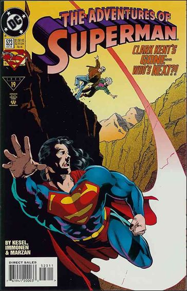Adventures of Superman (1987) 523-A by DC