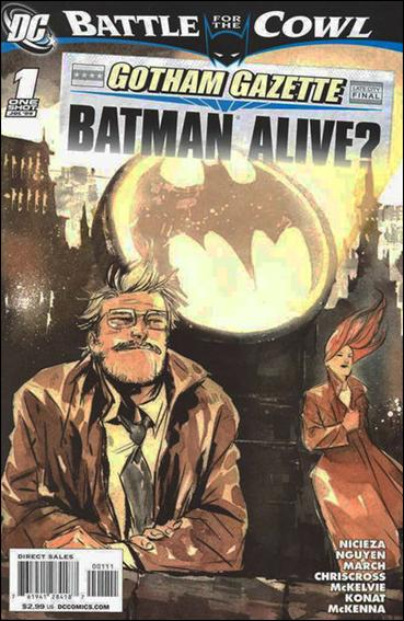 Gotham Gazette: Batman Alive? 1-A by DC
