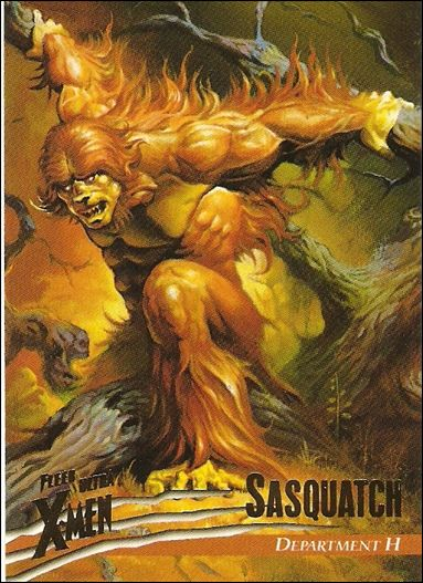 1996 Fleer Ultra X-Men: Wolverine (Base Set) 13-A by Fleer