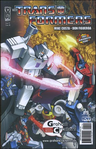 Transformers (2009) 1-D by IDW