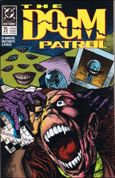 Doom Patrol (1987) 25-A by Vertigo