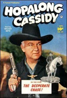 Hopalong Cassidy (1943) 59-A by Fawcett