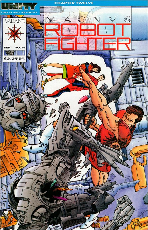 Magnus Robot Fighter (1991) 16-A by Valiant