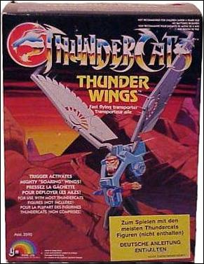 ThunderCats (1985) Vehicles and Accessories Thunder Wings by LJN