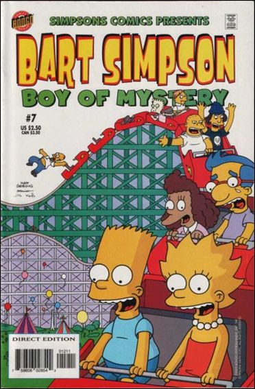 Simpsons Comics Presents Bart Simpson 7-A by Bongo