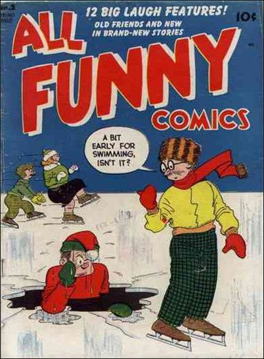 All Funny Comics 2-A by DC
