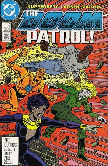 Doom Patrol (1987) 6-A by Vertigo