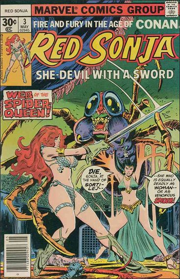 Red Sonja (1977) 3-A by Marvel