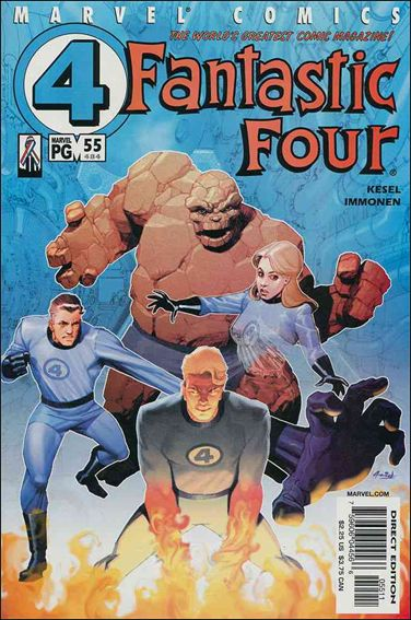 Fantastic Four (1998) 55-A by Marvel