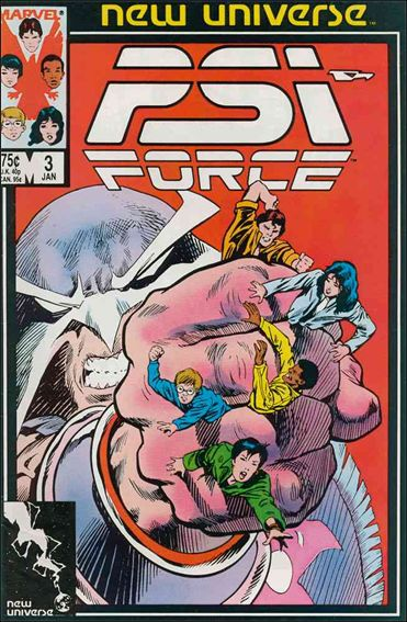 Psi-Force 3-A by Marvel