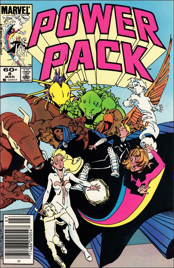 Power Pack (1984) 8-A by Marvel