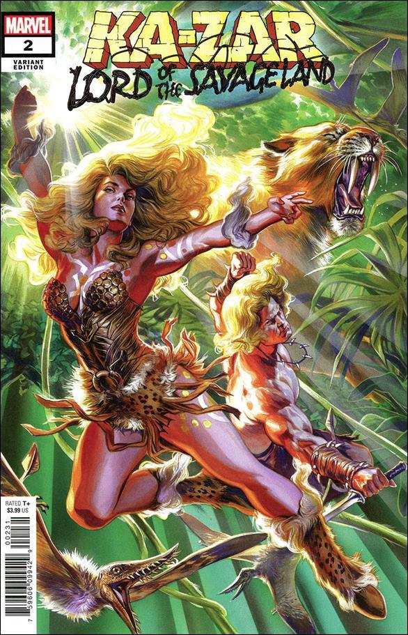 Ka-Zar: Lord of the Savage Land 2-B by Marvel