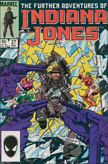 Further Adventures of Indiana Jones 27-A by Marvel