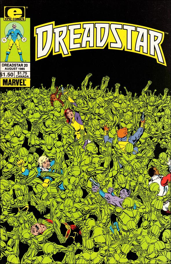 Dreadstar (1982) 20-A by Epic