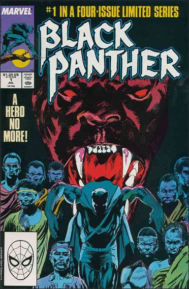 Black Panther (1988) 1-A by Marvel