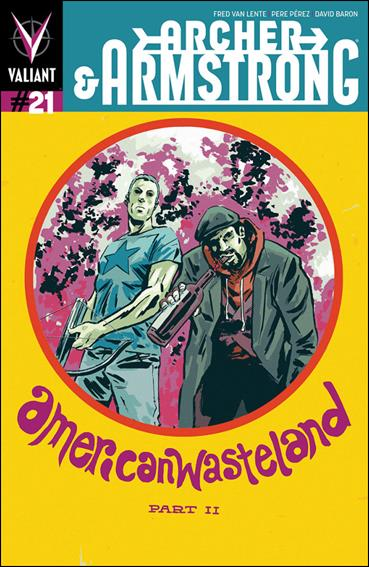 Archer & Armstrong (2012) 21-B by Valiant Entertainment