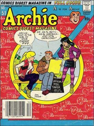 Archie Comics Digest Magazine 51-A