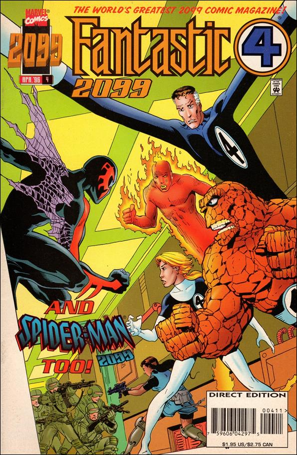 Fantastic Four 2099 4-A by Marvel