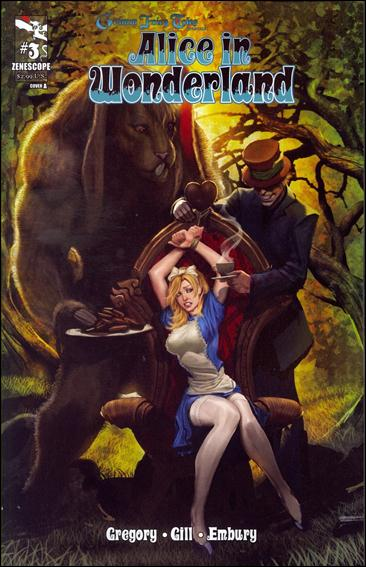 Grimm Fairy Tales Presents Alice in Wonderland 3-A by Zenescope Entertainment