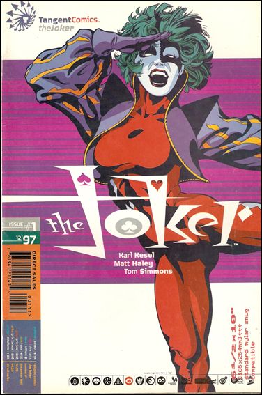 Tangent Comics/The Joker 1-A by DC