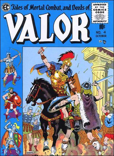 Valor (1955) 4-A by E.C.