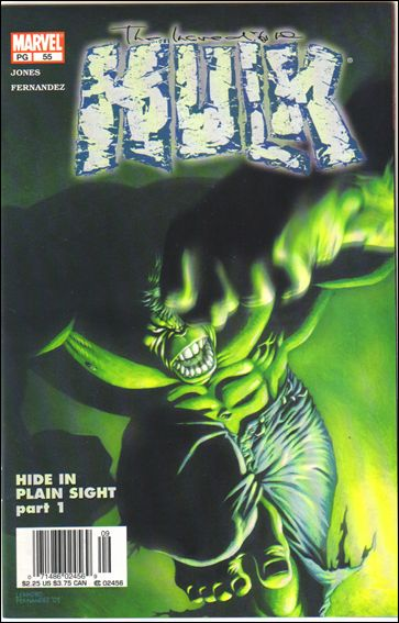 Incredible Hulk (2000)  55-B by Marvel