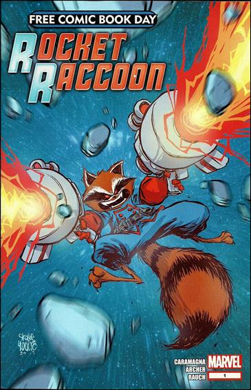 Free Comic Book Day 2014 (Rocket Raccoon) 1-A by Marvel