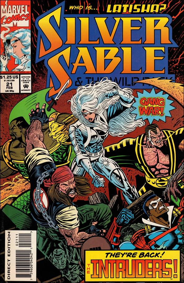 Silver Sable & The Wild Pack 21-A by Marvel