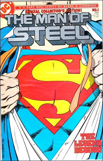 Man of Steel 1-F by DC