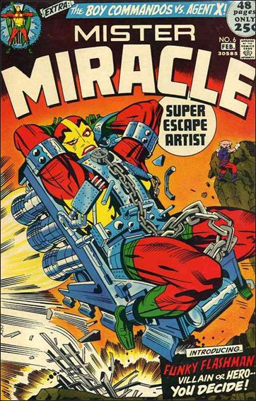 Mister Miracle (1971) 6-A by DC
