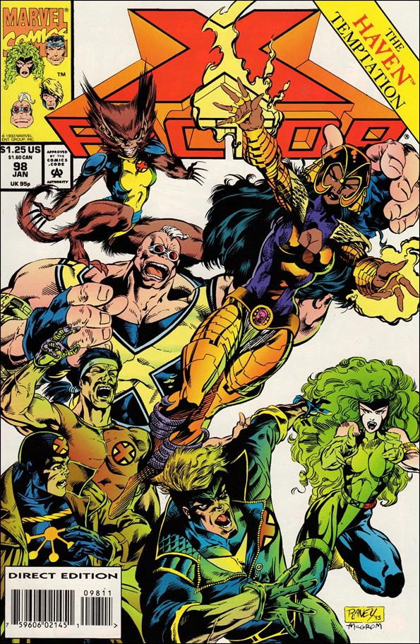 X-Factor (1986) 98-A by Marvel