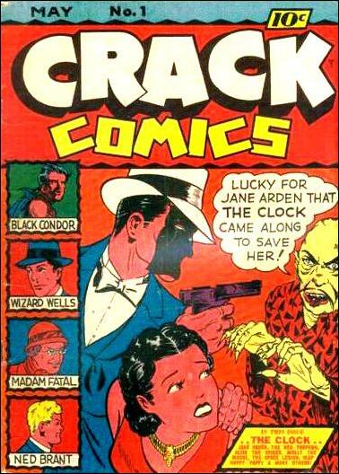 Crack Comics 1-A by Quality