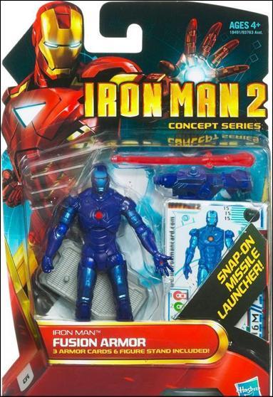 Iron Man 2 Iron Man - Fusion Armor (Concept Series) by Hasbro