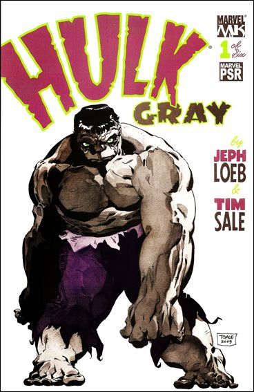 Hulk: Gray 1-A by Marvel