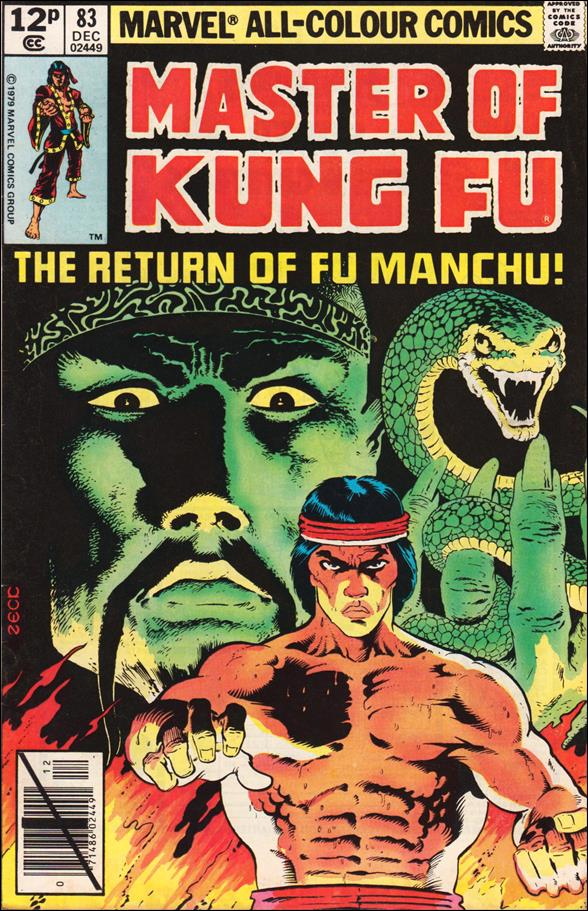 Master of Kung Fu 83-B by Marvel