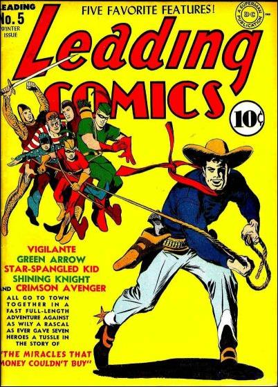 Leading Comics 5-A by DC
