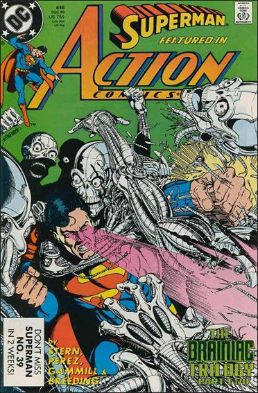 Action Comics (1938) 648-A by DC