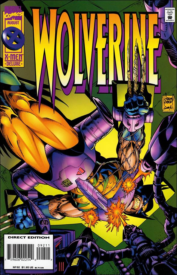 Wolverine (1988)  92-A by Marvel
