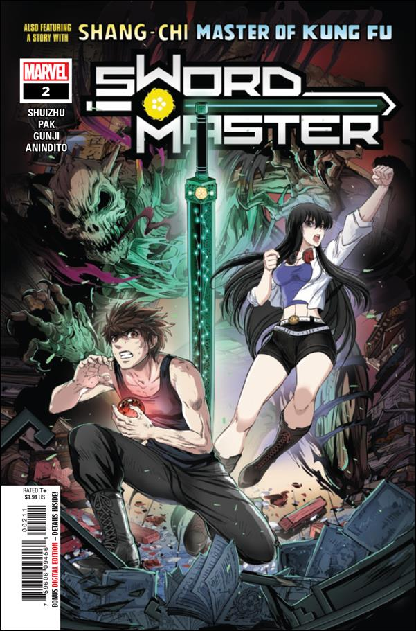 Sword Master 2-A by Marvel