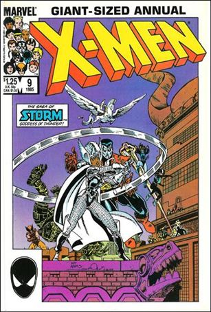 Uncanny X-Men Annual 9-A