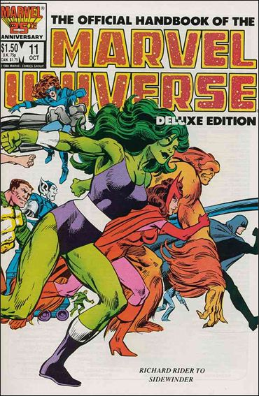 Official Handbook of the Marvel Universe (1985) 11-A by Marvel