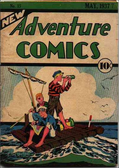 New Adventure Comics 15-A by DC