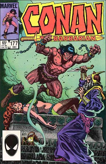 Conan the Barbarian (1970) 177-A by Marvel