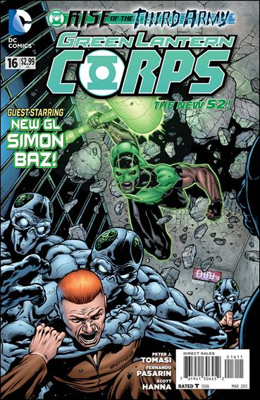 Green Lantern Corps (2011) 16-A by DC