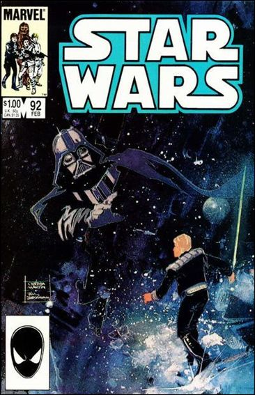 Star Wars (1977) 92-A by Marvel