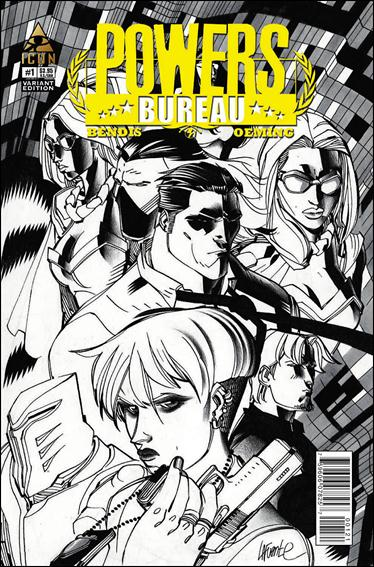 Powers: The Bureau 1-B by Icon