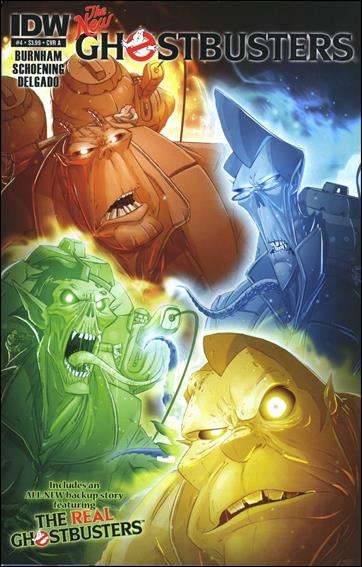 Ghostbusters (2013) 4-A by IDW