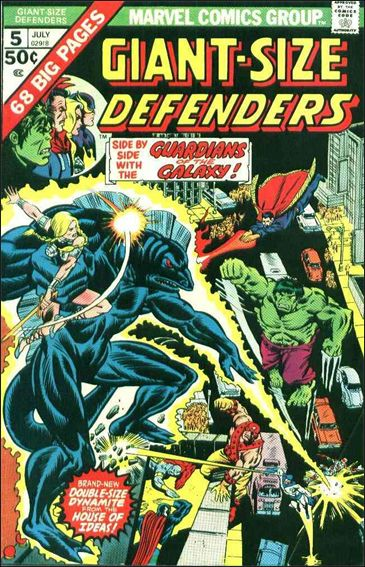 Giant-Size Defenders 5-A by Marvel