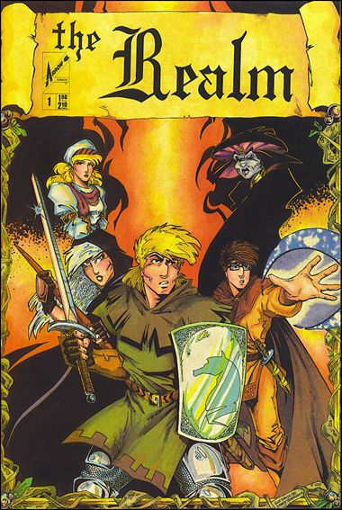 Realm (1986) 1-A by Arrow