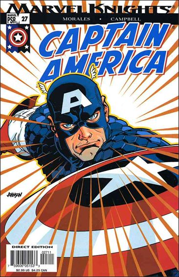Captain America (2002) 27-A by Marvel